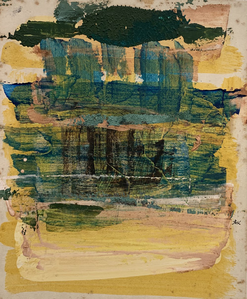 """The Golden Acre (Signed """"KWAN"""" in Chinese, 1970s)"""